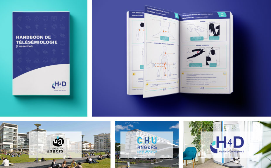 [Communiqué de Presse] H4D, l'Université d'Angers et le CHU d'Angers révolutionnent la télémédecine et inventent la «télésémiologie» !